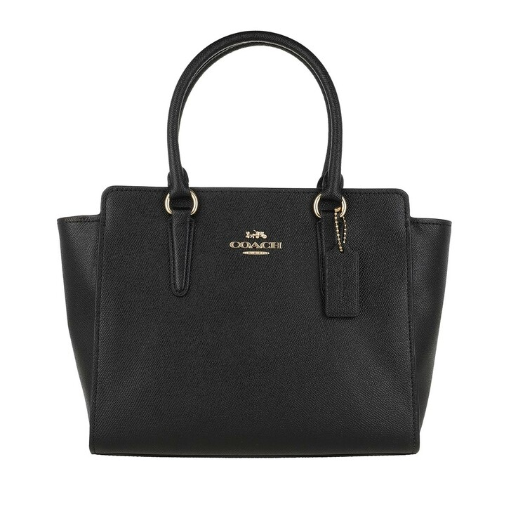 bags, Coach, Tote Leather Black