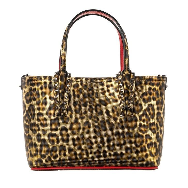 bags, Christian Louboutin, Cabata Mini Tote Bag Leo
