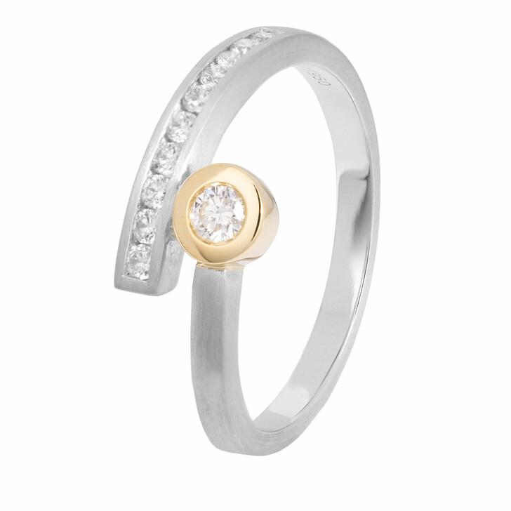 rings, VOLARE, Ring 11 Brill ca. 0,25 Bicolor