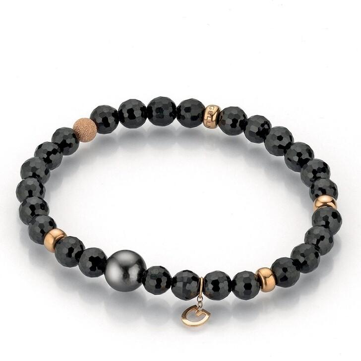 bracelets, Gellner Urban, Bracelet Power Spinell Pearls Rose Intense