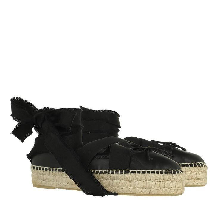Schuh, Red Valentino, Espadrillas Black
