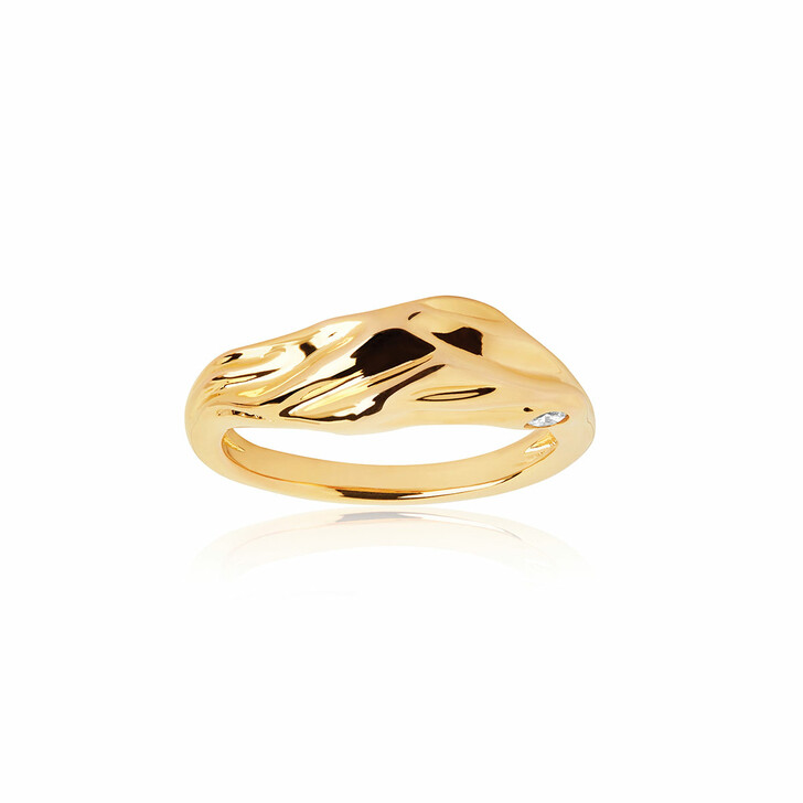 Ring, Sif Jakobs Jewellery, Vulcanello Ring Yellow Gold
