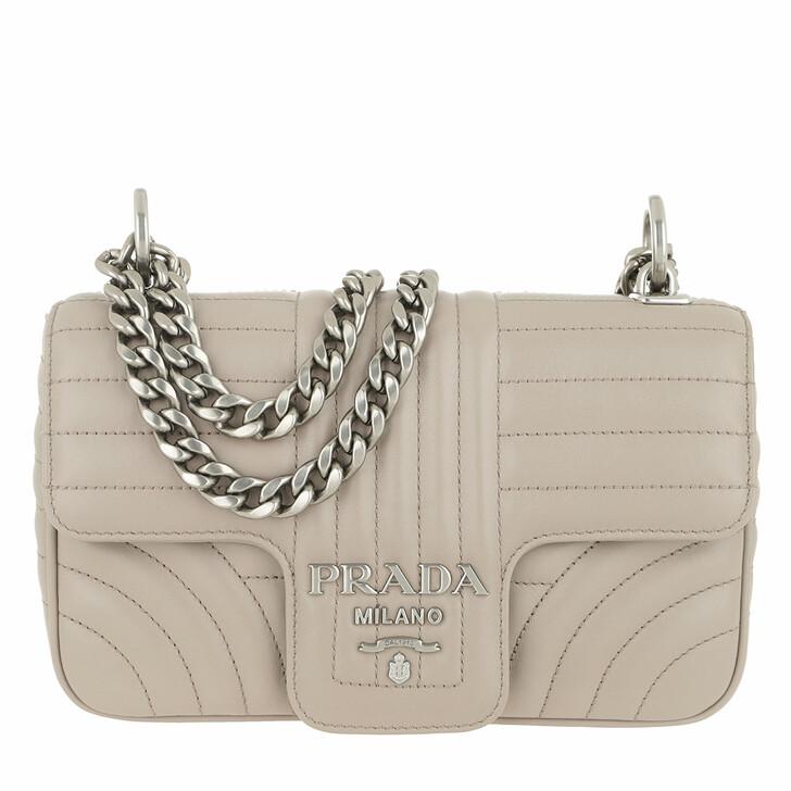 bags, Prada, Diagramme Crossbody Bag Leather Pomice 2