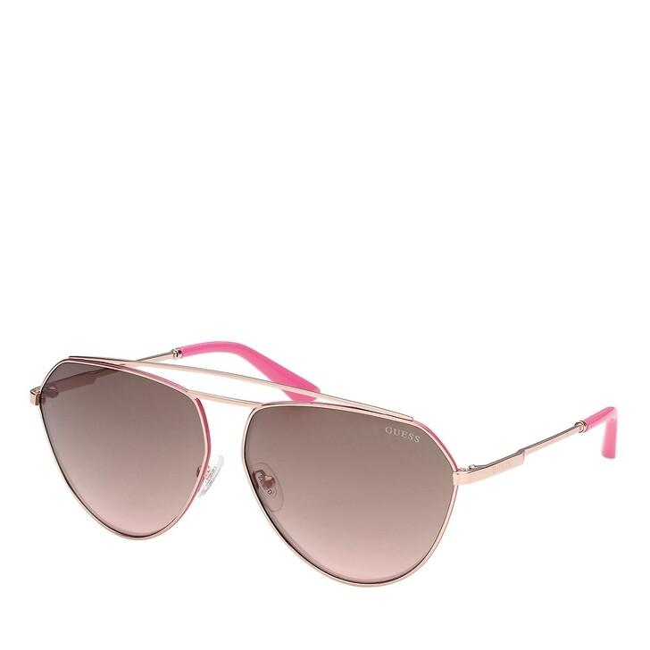 Sonnenbrille, Guess, GU7783 Rose Gold/Brown