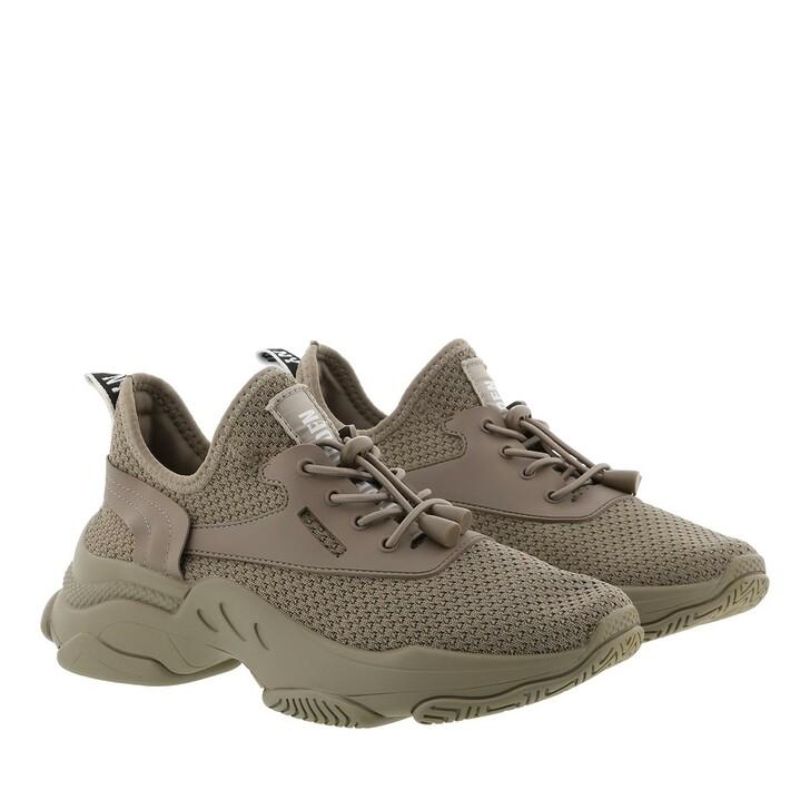 shoes, Steve Madden, Match Sneaker Fabric Dark Taupe