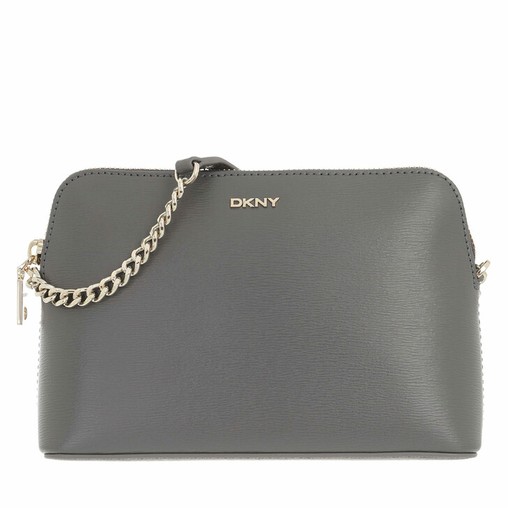 bags, DKNY, Bryant Dome Crossbody Bag Charcoal