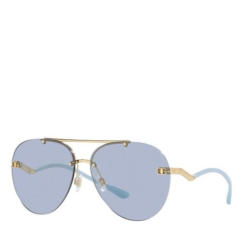 dolce&gabbana -  Sonnenbrille - 0DG2272 - in gold - für Damen