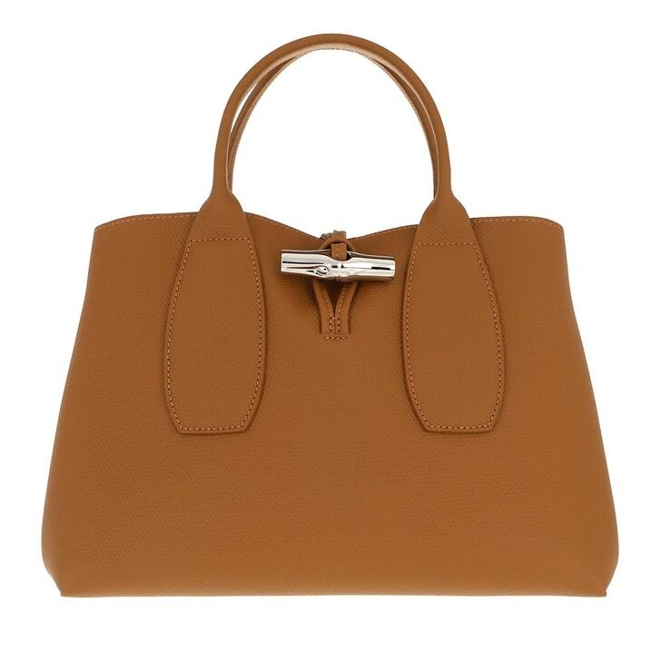 bags, Longchamp, Roseau Handbag  Naturel