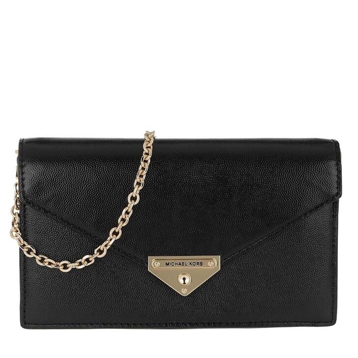 Handtasche, MICHAEL Michael Kors, Grace MD Envelope Clutch Black