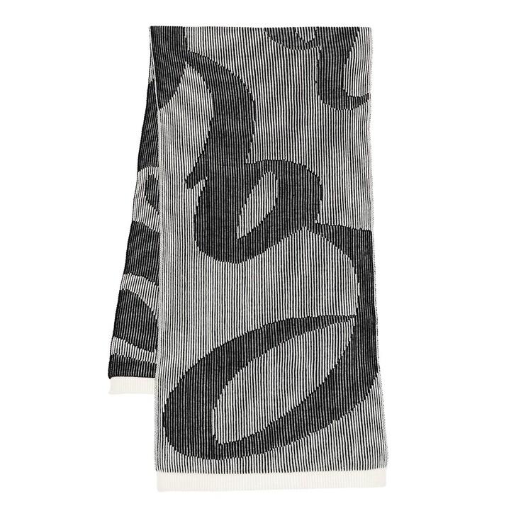 scarves, Lala Berlin, Scarf Kiara Off-White Black
