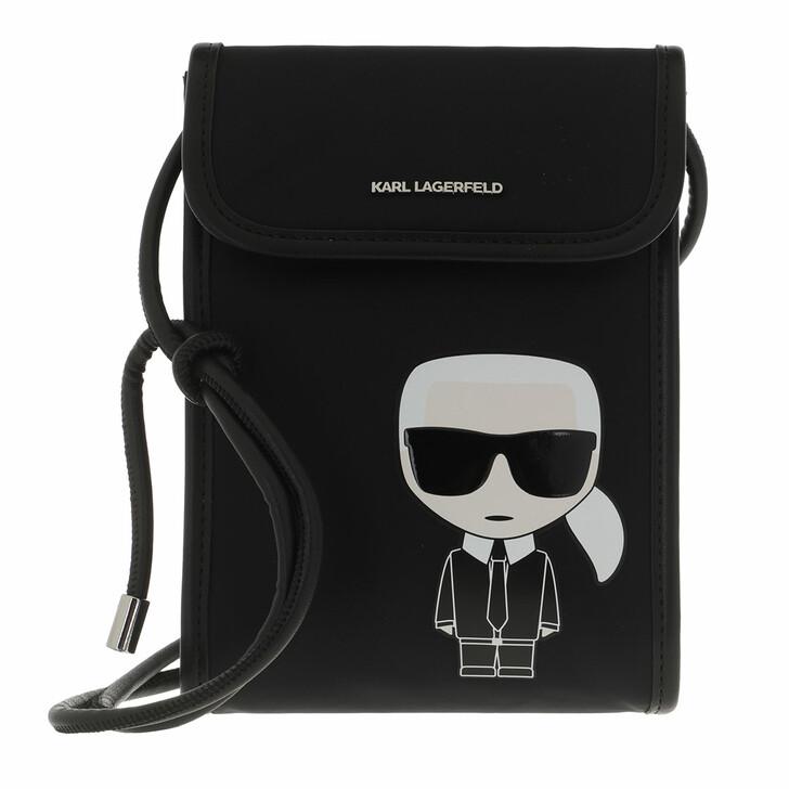 smart_cases, Karl Lagerfeld, K/Ikonik Nylon Phone Cb Black