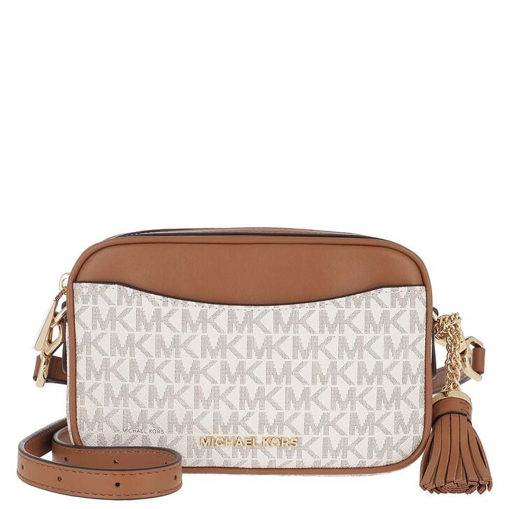 Handtasche, MICHAEL Michael Kors, Jet Set SM Crossbody Bag Vanilla Acorn