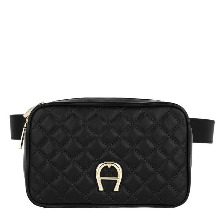 bags, AIGNER, Garda Beltbag Black