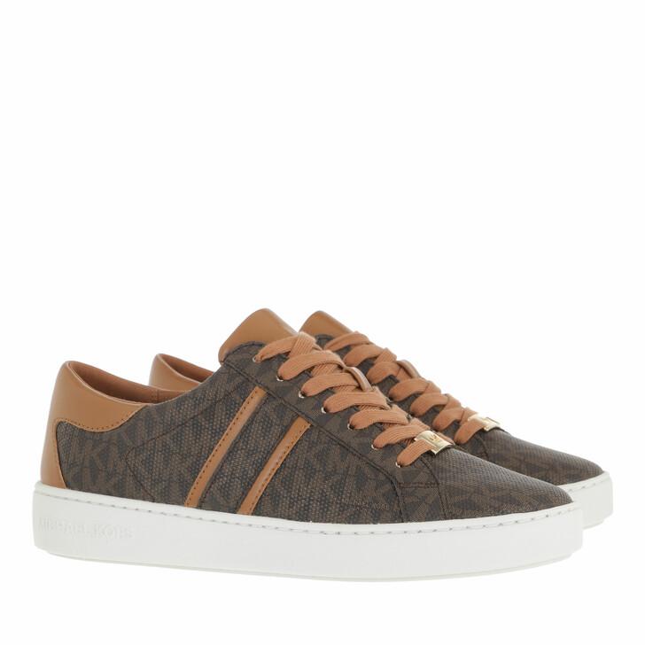 shoes, MICHAEL Michael Kors, Keaton Stripe Sneaker Brown
