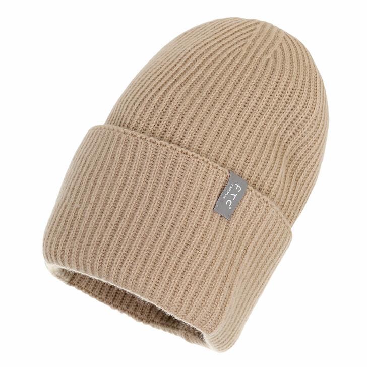 hats, FTC Cashmere, Beanie Desert Sand
