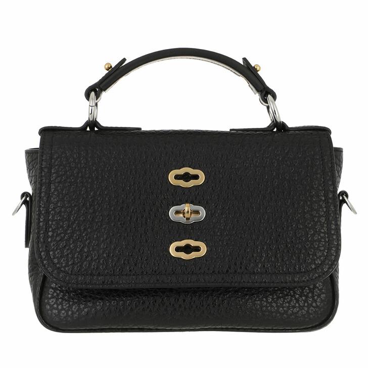 bags, Mulberry, Small Bryn Crossbody Bag Shiny Pebbled Grain Black