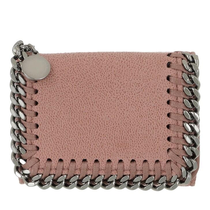 Geldbörse, Stella McCartney, Falabella Mini Wallet Leather Pink