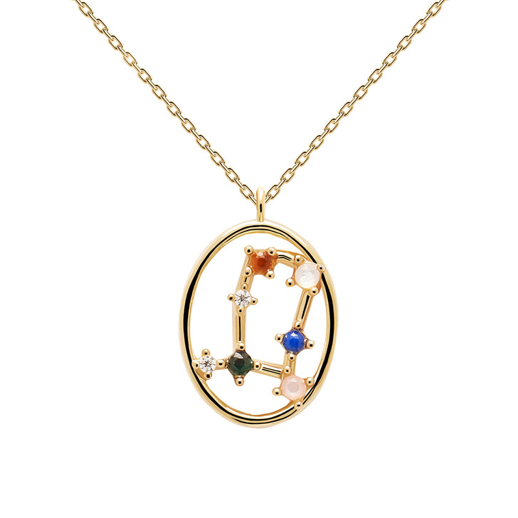 Kette, PDPAOLA, Necklace GEMINI Yellow Gold