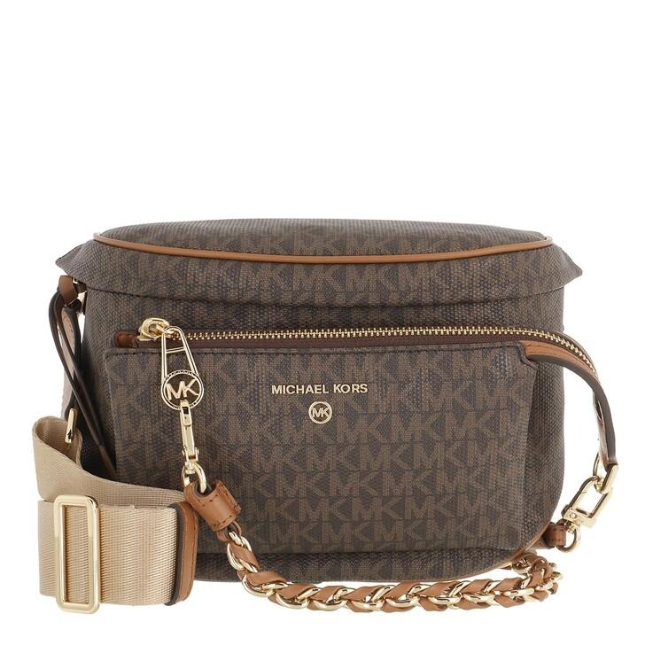 Handtasche, MICHAEL Michael Kors, Medium Sling Pack  Brown/Acorn