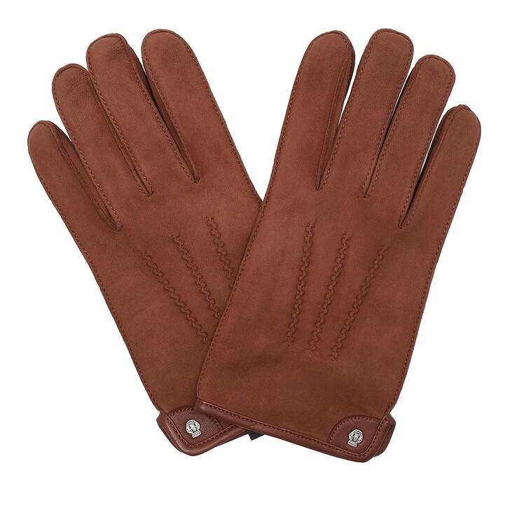 Handschuh, Roeckl, Men Limerick Gloves Saddlebrown