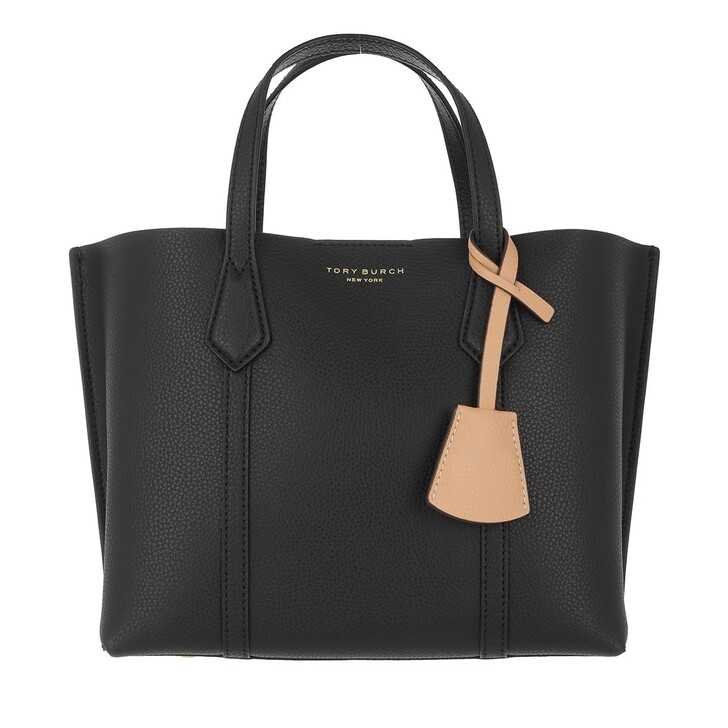 Handtasche, Tory Burch, Perry Small Triple-Compartment Tote Black