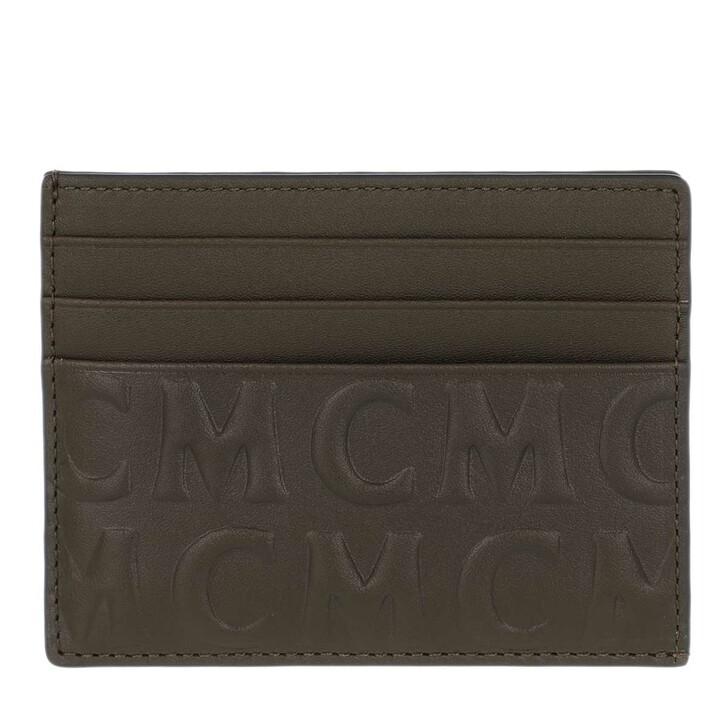 Geldbörse, MCM, Card Case Leather Sea Turtle