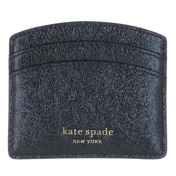 wallets, Kate Spade New York, Card Holder Metallic Night