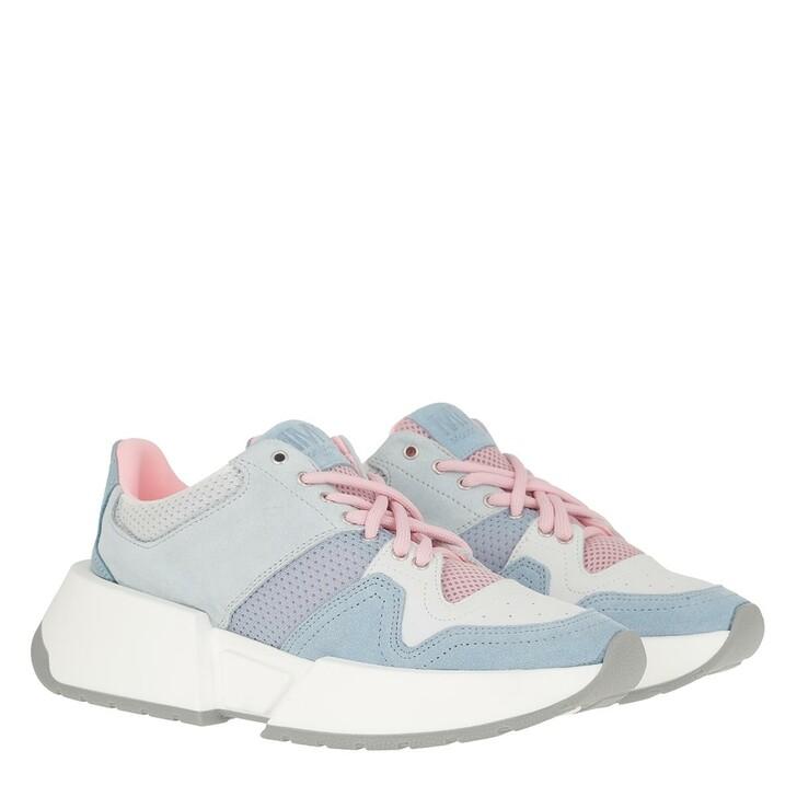 Schuh, MM6 Maison Margiela, Sneakers Forget Blue/Birch White/Coral Blush/Cerulean