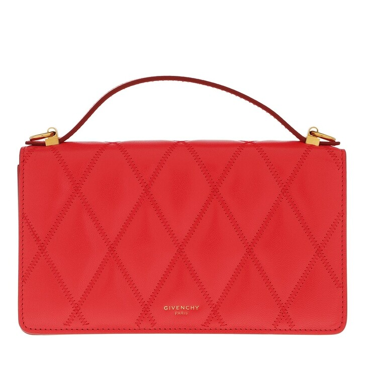 Handtasche, Givenchy, GV3 Crossbody Bag Leather Red