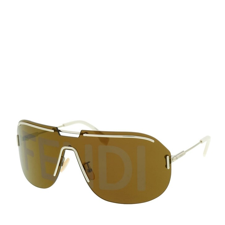 Sonnenbrille, Fendi, FF M0098/S Light Gold