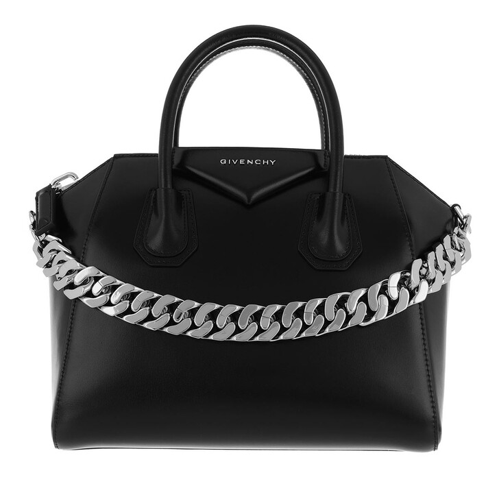 bags, Givenchy, Small Antigona Tote Leather Black