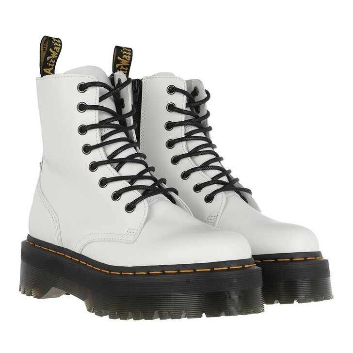 Schuh, Dr. Martens, Jadon Plateau Boot White