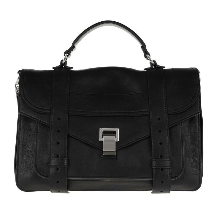 Handtasche, Proenza Schouler, PS1 Medium Crossbody Bag Lamb Leather Black