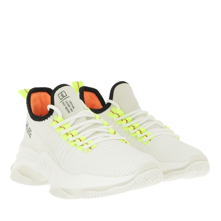 shoes, Steve Madden, Mac Sneaker White