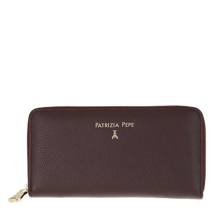 Geldbörse, Patrizia Pepe, Purse Leather Violette Swan