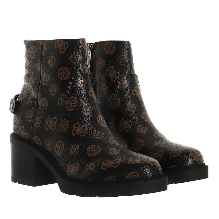 shoes, Guess, Tejana Brown Ocra