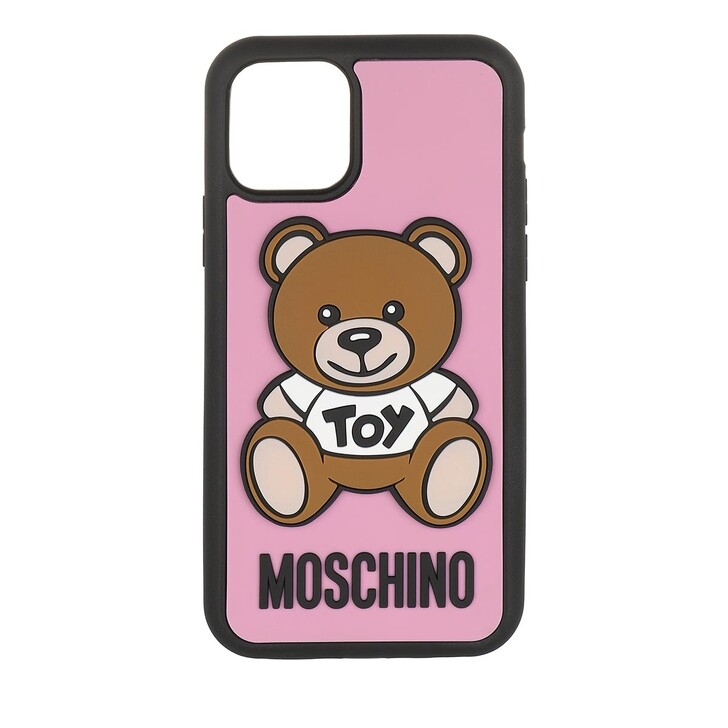 Smartphone/Tablet case (Case), Moschino, iPhone 11 Pro Toy Cover Fantasia Rose