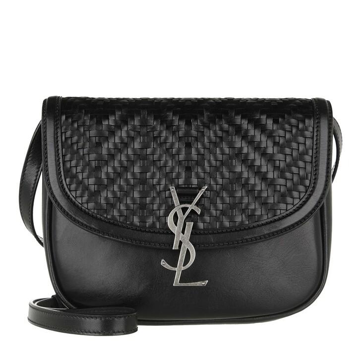 Handtasche, Saint Laurent, Medium Kaia Shoulder Bag Black