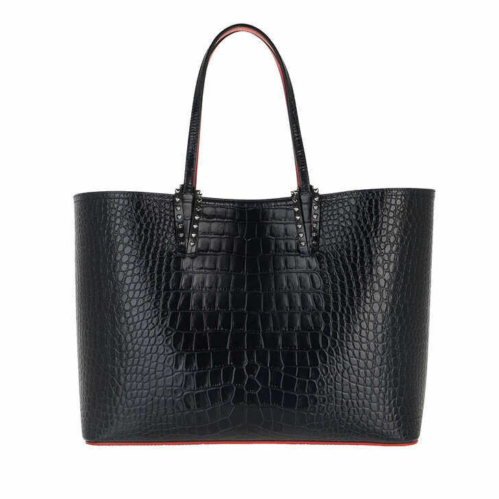 Handtasche, Christian Louboutin, Cabata Tote Bag Leather Nocturne