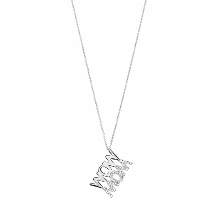 Kette, Leaf, Necklace Wow Mom Sterling Silver