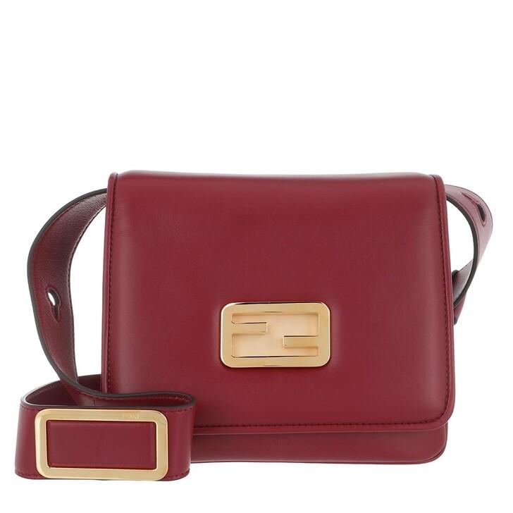 Handtasche, Fendi, ID Mini Crossbody Bag Red