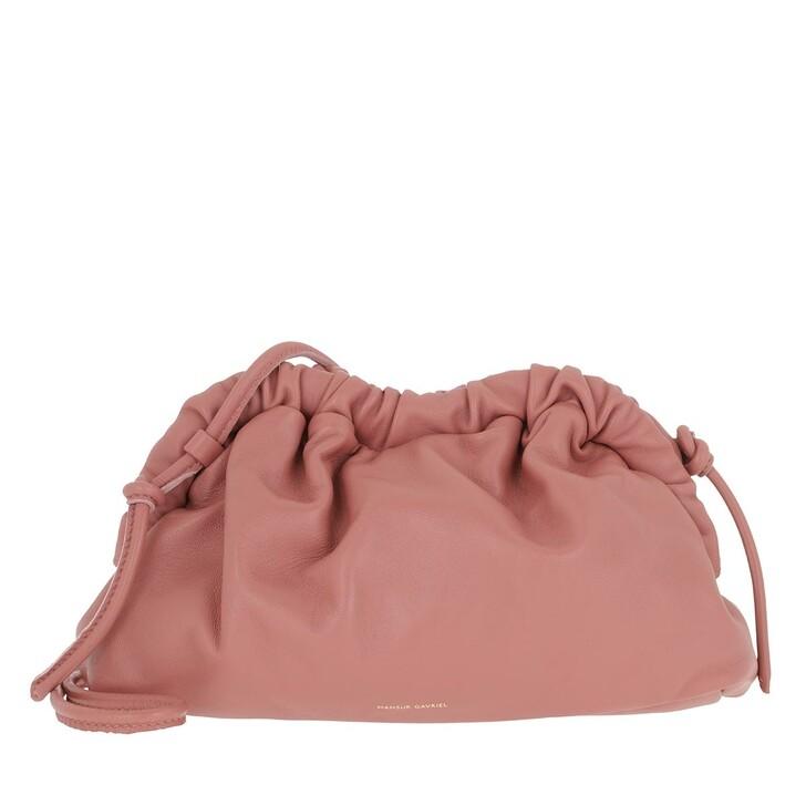 Handtasche, Mansur Gavriel, Mini Cloud Clutch Blush
