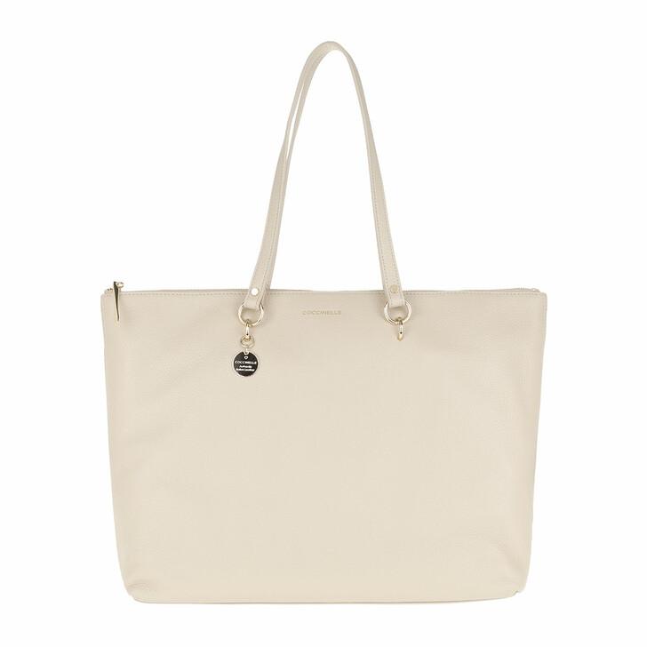 bags, Coccinelle, Alpha Shoulder Bag Seashell