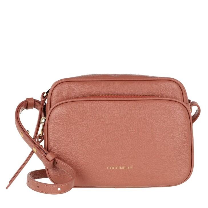 Handtasche, Coccinelle, Lea Crossbody Bag Litchi