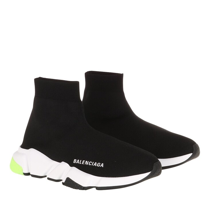 Schuh, Balenciaga, Speed Sneaker Black/White