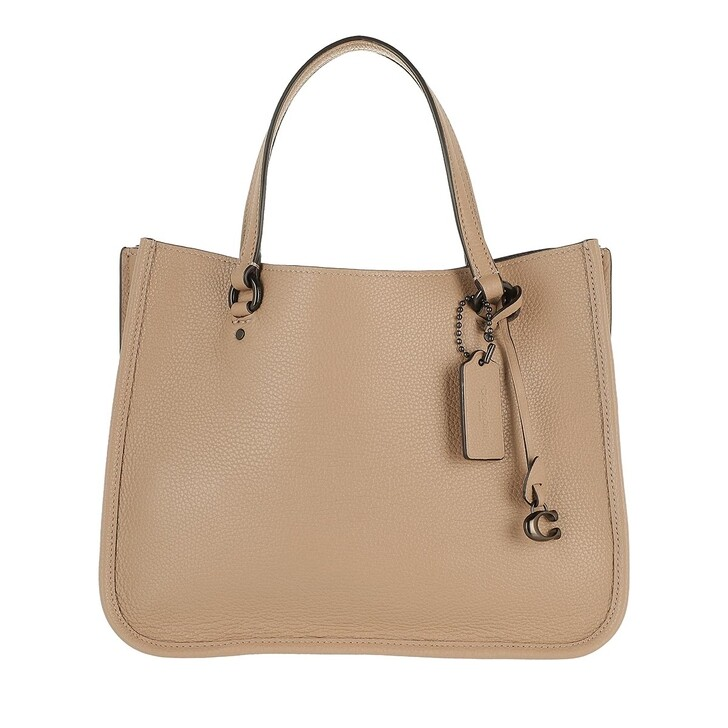Handtasche, Coach, Polished Pebble Leather Tyler Carryall 28 V5/Taupe