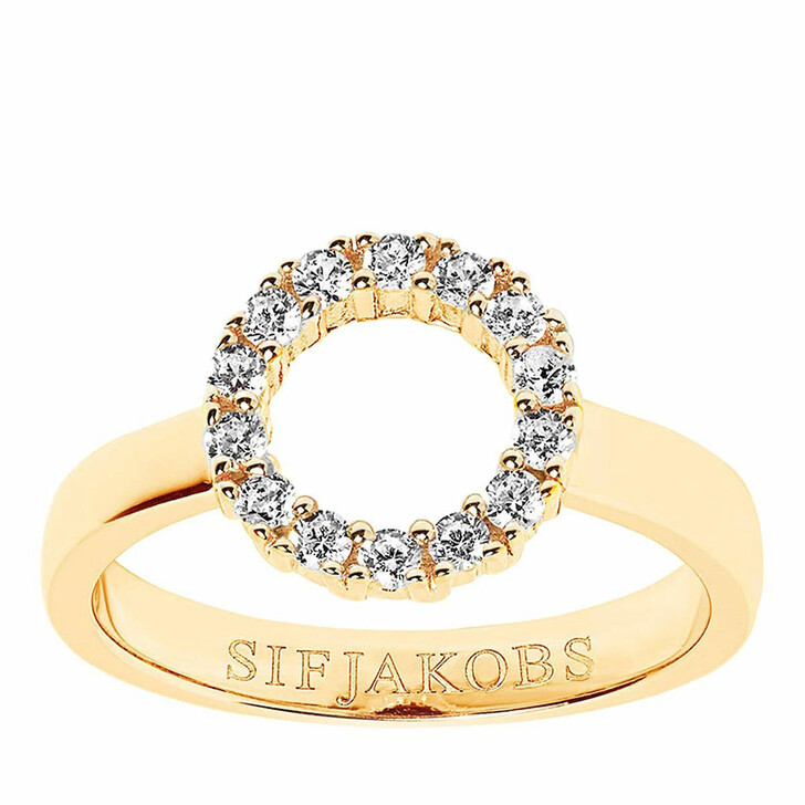 rings, Sif Jakobs Jewellery, Biella Piccolo Ring 18K Yellow Gold Plated