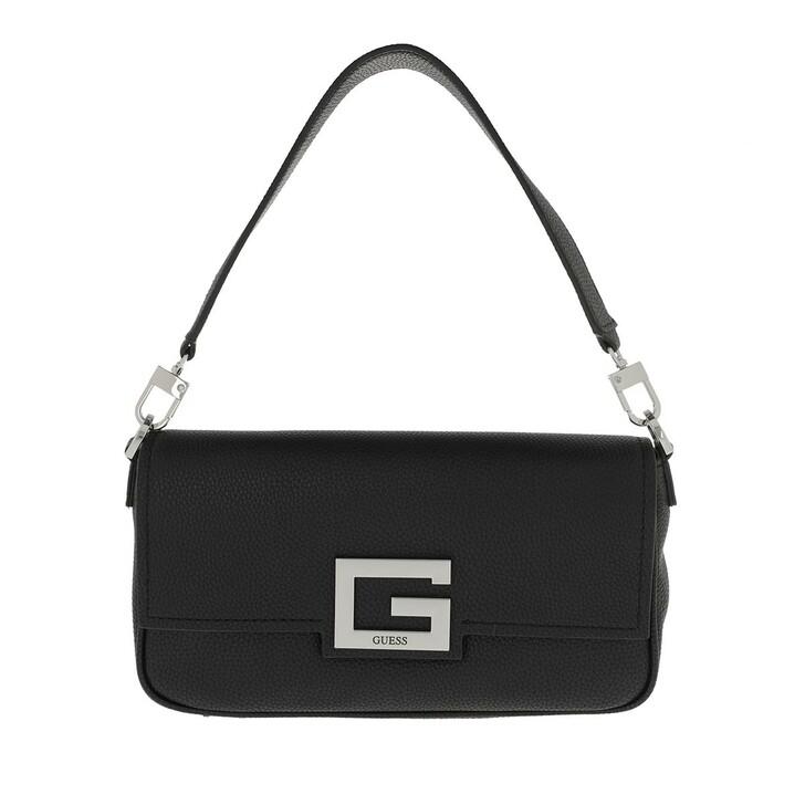 bags, Guess, Brightside Shoulder Bag Black