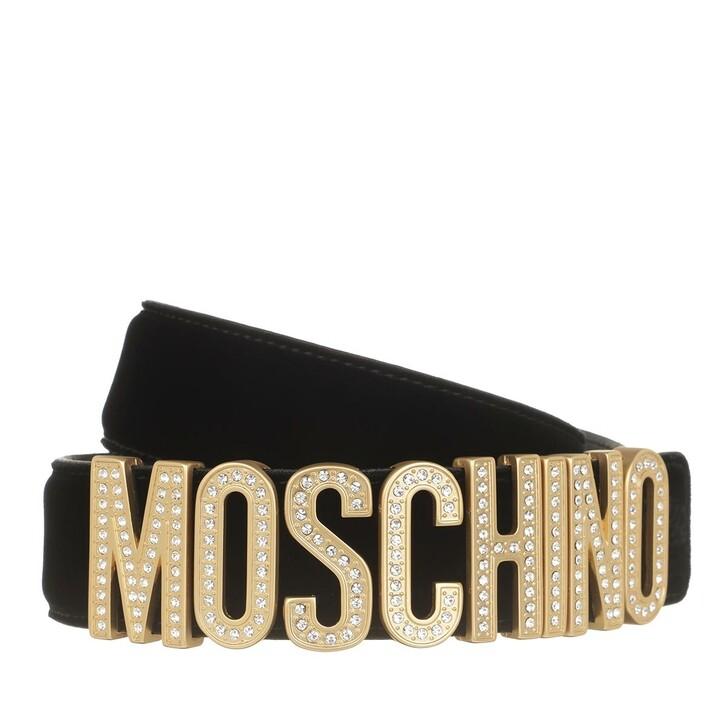 Gürtel, Moschino, Belt Fantasia Nero