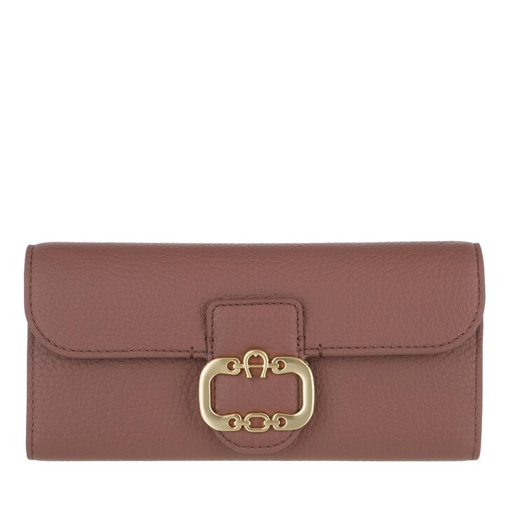 Geldbörse, AIGNER, Wallet Walnut Brown